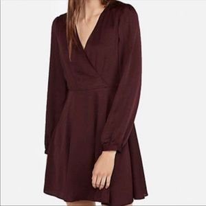 Fit and flare express dress